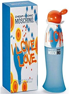 Moschino Cheap and Chic I Love Love For Women - EDT 30ml