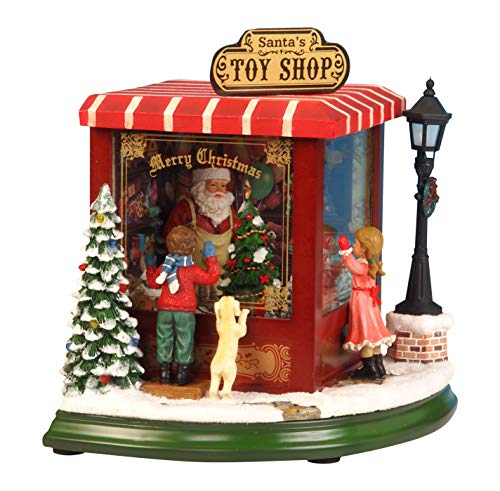MusicBox Kingdom 52003 Toy Shop Music Box, Small by