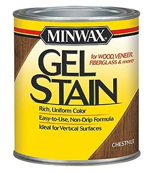 Minwax 260104444 Interior Wood Gel Stain 1/2 pint Chestnut