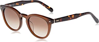 Fossil Men's Round Sunglasses