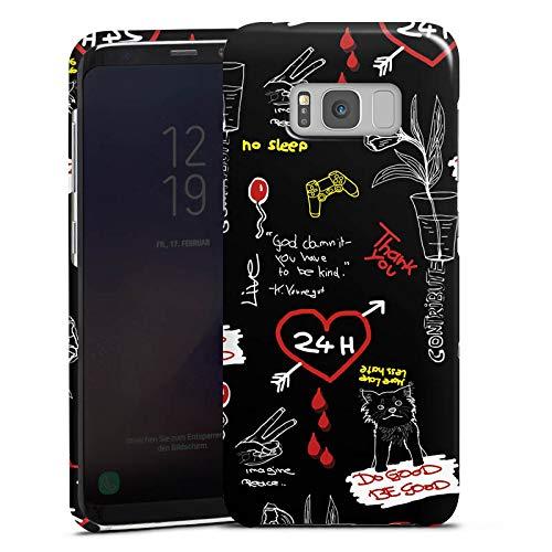 DeinDesign Handyhülle kompatibel mit Samsung Galaxy S8 Plus Hülle Premium Case rewinside Charity Youtuber