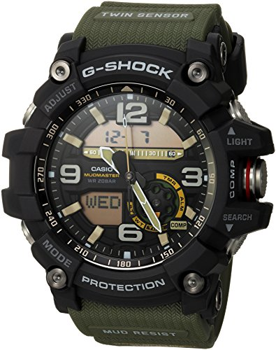 Casio Men's GG-1000-1A3CR Mudmaster G-SHOCK...