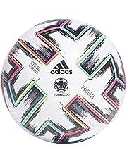 Adidas Heren UNIFO PRO Voetbalbal, Wit/Zwart/Signaal Groen/Helder Cyaan, 5