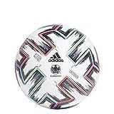Adidas Men's UNIFO PRO Soccer Ball, White/Black/Signal Green/Bright Cyan, 5