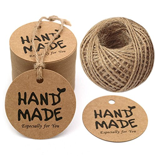Handmade Tags: Amazon com