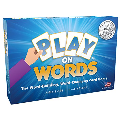 Play On Words Card Game  ExtraCreative Word Making Fun for All Ages  A Parents#039 Choice Award Winner