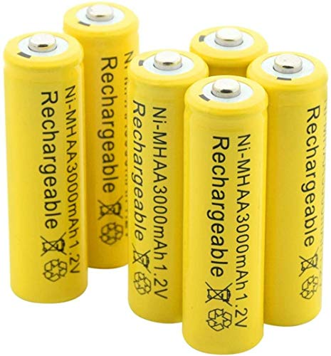 Rechargeable Battery 1.2V 3000Mah Aa Ni-MhBattery Rechargeable Nimh Batteries for Torch Flashlight Car Razor Mp3 Mp4 Air Model 12Pcs-16Pcs
