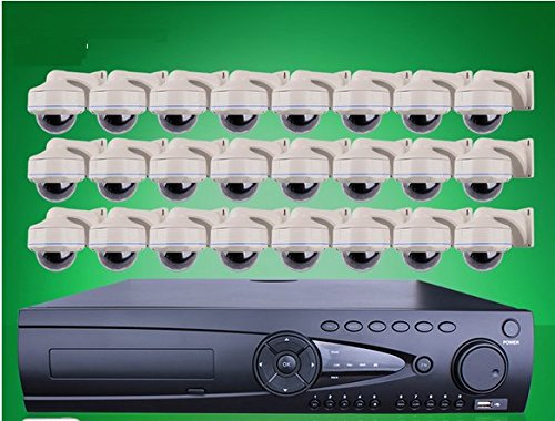 GOWE 9TB Disco Duro 24ch NVR sistema de seguridad alarma por...