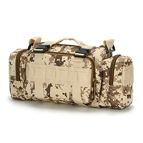 TacMac Range Bags for Handguns and Ammo Small Pistol Gun Shooting Gear Men Women Best Shooters Tactical Essentials (Digital Desert Camo)