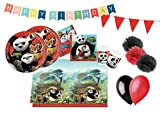 DECORATA PARTY Cumpleaños coordinado Kung Fu Panda Po Dragon Warrior