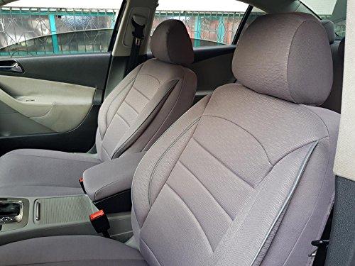 seatcovers by k-maniac Fiat Bravo 182, universales, Color Gris, Juego de Fundas para Asientos Delant