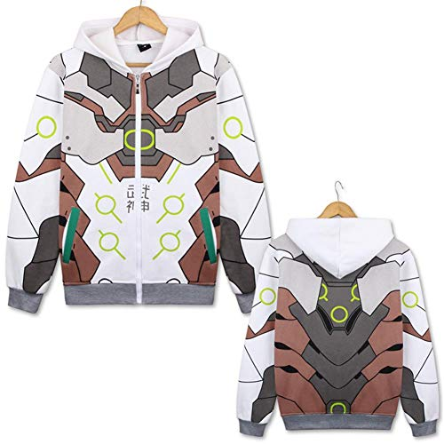 Micosplay - Sudadera con capucha para disfraz de anime