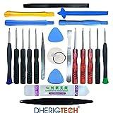 Kit Complet d'outils 22 en 1 Compatible avec Réparation de Smartphones,Tablettes pour ACER Tablette tactile Iconia B3-A50FHD-K7E4-10,1