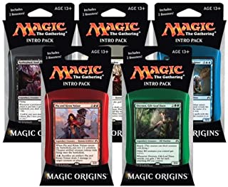 MTG Magic the Gathering Origins M16 2016 Set of All 5 Intro Packs (5 decks) - Pre-Order Ships July 17th