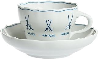 マイセン(Meissen)歴代マイセンマーク コーヒーカップ&ソーサー 778509/00582 [並行輸入品]