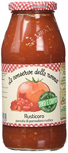 Le Conserve della Nonna Passata Rustica di Pomodoro 100% Italiano - 500 gr
