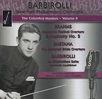 Brahms; Smetana; Barbirolli - Columbia Masters by New York Philharmonic Orchestra