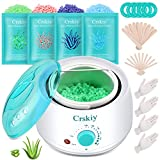Best Home Waxing Kits - Crskiy Waxing Kit, Wax Warmer Hair Removal Review