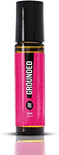 Grounded Essential Oil Roll-On Blend | Part of the Good Vibes Collection by Sacred Life | Personal Aromatherapy | Use to Diminish Stress and Provide Calming Feeling