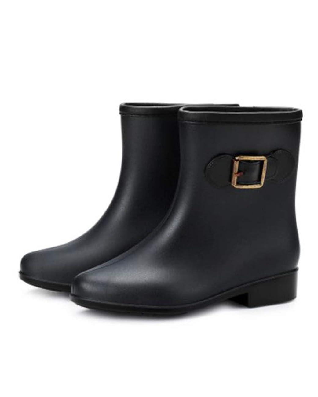後者嫌悪エピソード[Ininuk] レインシューズ レディース ミドル丈 レインシューズ 長靴 可愛い 丈夫 婦人靴 ラバーブーツ おしゃれ 防水 雨靴 梅雨対策 歩きやすい 無地 快適 防水 耐滑 通勤 通学 アウトドア