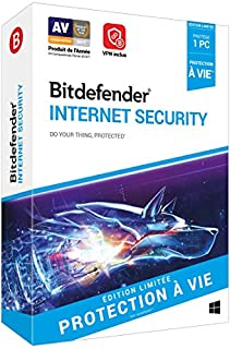 Bitdefender Internet Security - Edition Illimitée - 1 PC (B07BRXG7TK) | Amazon price tracker / tracking, Amazon price history charts, Amazon price watches, Amazon price drop alerts