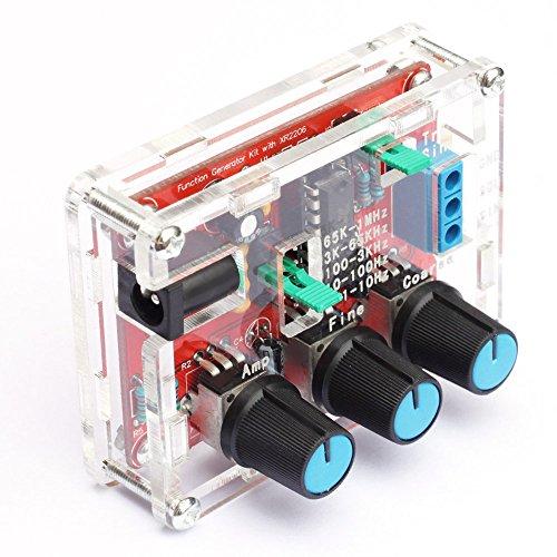 『KKmoon XR2206 信号発生器 高精度 ファンクション信号発生器 DIYキット 正弦/三角/正方形 出力1Hz〜1MHz 周波数振幅調整可能』の3枚目の画像