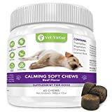Calming Treats for Dogs- Soft Chew Formula with Organic Hemp Oil for Dogs