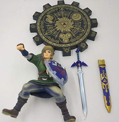 Zelda 20cm Zelda Skyward Sword PVC Figura de acción Juego de Anime Juguete Zelda Link figurilla Juguete de Modelos coleccionables
