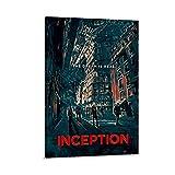 Inception Vintage-Reise-Poster, Leinwand, Wandkunst, Poster
