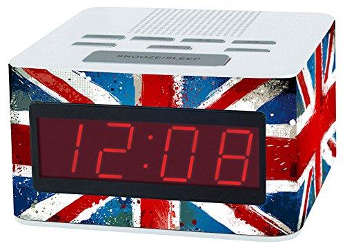 Teknofun - 811207 - Radio Réveil - UK