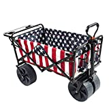 Best Beach Chairs With Wheels - Mac Sports Collapsible Folding Outdoor Beach Wagon Review