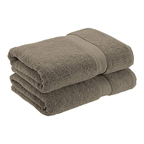 Superior - Juego de Toallas de baño de algodón de 900 g/m2, Color carbón, 2 Piezas
