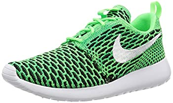 Nike WMNS Roshe One Flyknit Women Lifestyle Casual Sneakers New Voltage Green  6