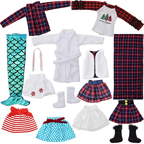 15 PCS Santa-Couture Clothing-Ac...