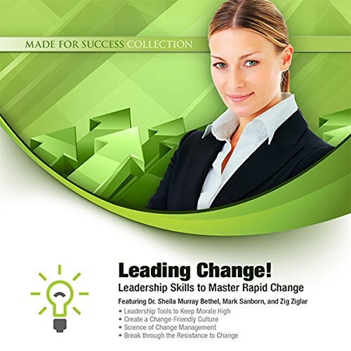 Leading Change! audiobook cover art