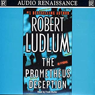 The Prometheus Deception audiobook cover art