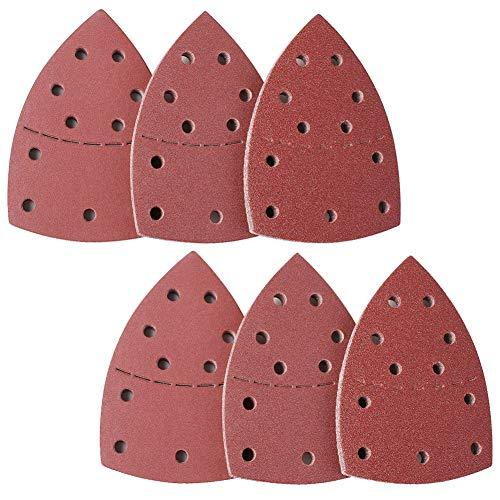 Learn More About 60 PCS Mouse Sandpaper Sanding Sheets 40-240 Grit Sandpaper Fit for Bosch Multi-San...