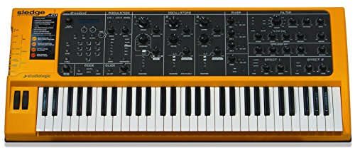 Best Deals! Studiologic Sledge 2.0 61-Key Synthesizer with Aftertouch