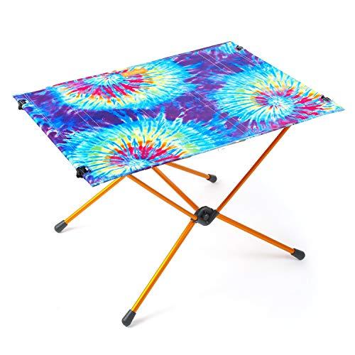 Helinox Table One - Mesa de camping para exteriores, ligera, plegable, portátil, grande, 76,2 x 55,8 cm, teñido anudado