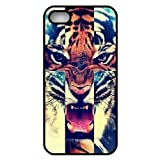 Zeimax UV Case for iPhone 5 5S – Tiger Roar Cross Hipster