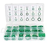 270 Pieces O Rings Seal Gasket Washer O Ring Assortment Set Kit 18 Sizes, COPACHI Rubber O-Ring Grommets Heavy Duty Professional for A/C Automotive, Mechanic,Tools & Home Repairs with Case