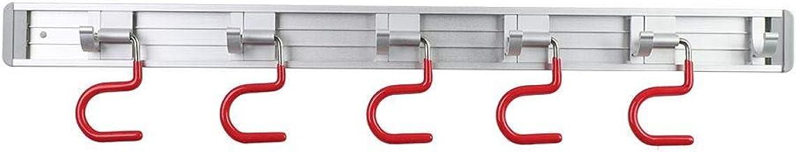 Support de balai de vadrouille outils de jardin Organisateur commercial mural, support de rangement pour économiser de l'e...