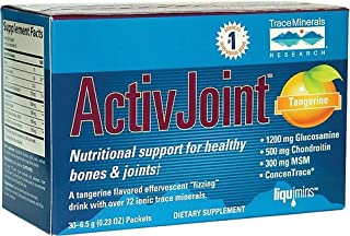 Activjoint Bone and Joint Tangerine 30 Pkts