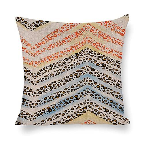 Design49fashion - Federa decorativa per cuscino in cotone e lino, per divano, camera da letto, 30,5 x 30,5 cm