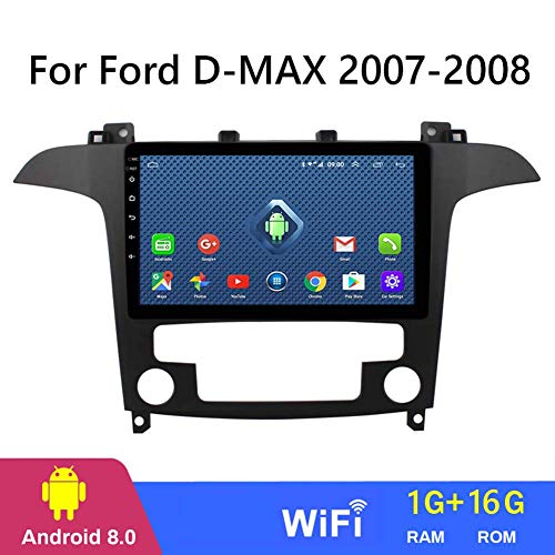 QWEAS 9-Zoll-2.5D Android 8.1 Auto-DVD GPS Spieler für Ford D-max 2007-2008, Autoradio-Stereo Head Unit Navigation Bluetooth Touchscreen