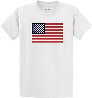 Joe's USA Custom Graphic Heavyweight Cotton T-Shirts in Regular, Big and Tall