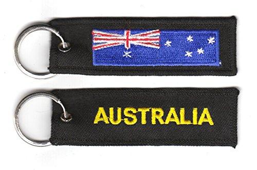Schlüsselanhänger Australien Anhänger Fahne Flagge NEU