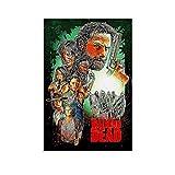 Póster de The Walking Dead, diseño retro de The Walking Dead, 30 x 45 cm