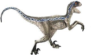 Webla - Dinosaurio Azul Velociraptor, Modelo Animal de Figura de Acción, Coleccionista de Juguetes El Plastico