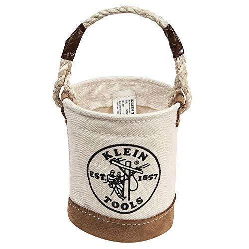 Klein Tools 5104 Mini Leather-Bottom Bucket